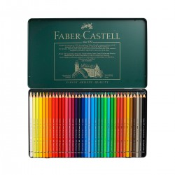 Sets Lápices Acuarelables Albrecht-Dürer Faber-Castell 36 metálica - Casa Piera