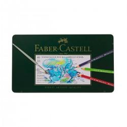 Set Llapis Aquarel·lable Albrecht-Dürer Faber-Castell 60 metàl·lica - Casa Piera