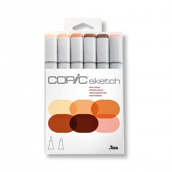 Set Retoladors Copic Sketch Tons Pell - Casa Piera