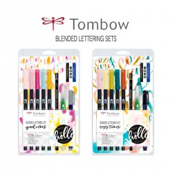 Set Lettering Blended Tombow - Casa Piera