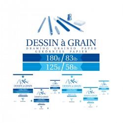 Bloc Dibujo Dessin à Grain...