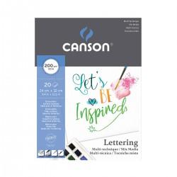 Bloc Lettering Canson - Casa Piera