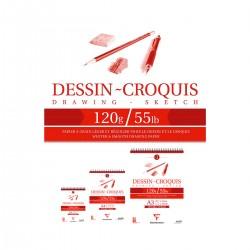 Bloc Dibujo Dessin Croquis...