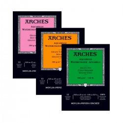 Bloc Arches 300g 12 hojas...