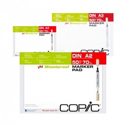 Bloc Papel Copic 70g