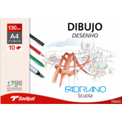 Pack Papel Dibujo Fabriano...