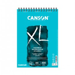 Bloc XL A4 Acuarela Canson Con Espiral Casa Piera Barcelona
