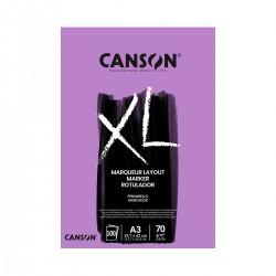 Bloc XL A3 Marker Canson Encolado Casa Piera Barcelona