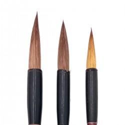 Set Pinceles Redondos Mapache Sumi-e 577087 - Casa Piera