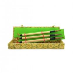 Set Pinceles Mapache Sumi-e 577086 - Casa Piera