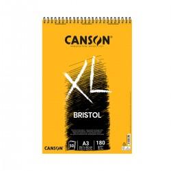 Bloc XL Bristol A3 Canson Con Espiral Casa Piera Barcelona