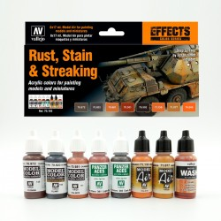Set Rust, Stain & Streaking...
