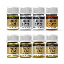 Pintura metal·litzada Liquid Gold 35ml Vallejo - Casa Piera Barcelona