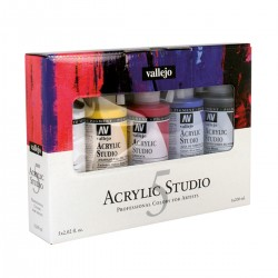 Set Acrylic Studio 5 Bàsics...