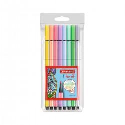 Set Pastel Pen 68 Stabilo