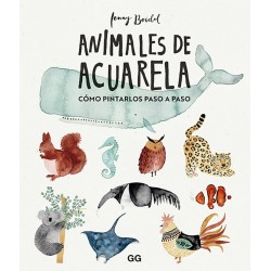 Animales De Acuarela Logilibro Casa Piera Barcelona