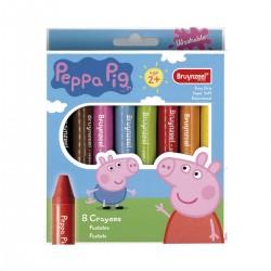Set 8 Ceras Peppa Pig Casa Piera Barcelona