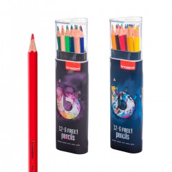 Estoig 12+6 Lápices Madera...