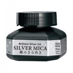 Tinta Silver Mica Kuretake