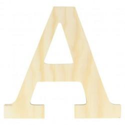 Letra A 11,5 cm  Madera Artemio Casa Piera Barcelona
