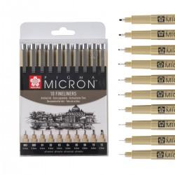 Set 10 Pigma Micron Sakura