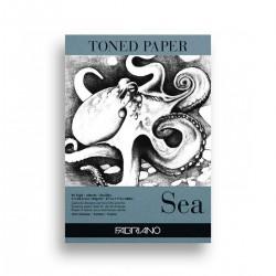 Bloc Papel Azul Toned Sea...