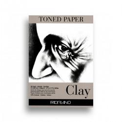 Bloc Papel Gris Toned Clay...