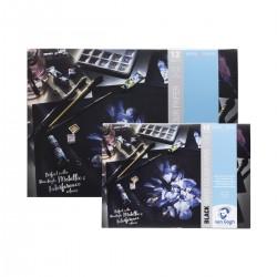 Bloc Paper Negre Aquarel·la...