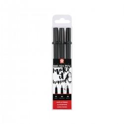 Set Pigma Brush Pen Sakura